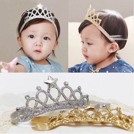 1PC Toddler Infant Newborn Kids Girls Baby Princess Tiaras Crowns Headbands Hairband New Hair Band Accessories