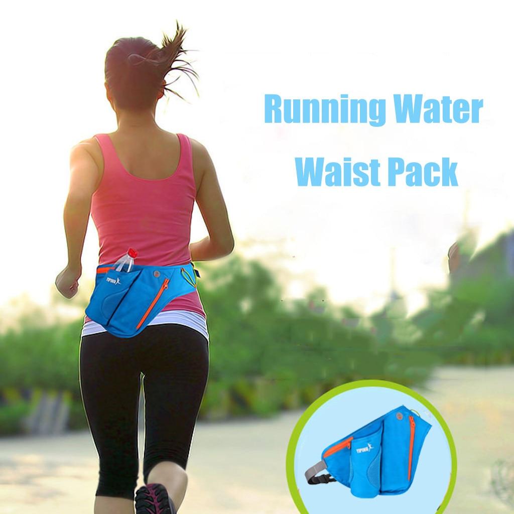 Backpack Bag Sport Water Bottle Holder Belt Bag For Running Jogging Waterproof Cycling Waist Pack Pouch Cycling Bum Bag Outdoor