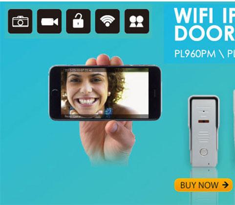 WiFi Smart Video Doorphone HD IP Camera