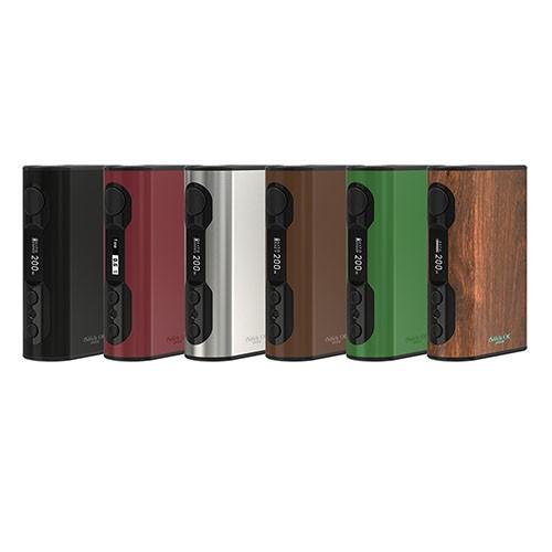 Prix pour Eleaf istick qc 200 w boîte mod 5000 mah e-cig batterie innovante tc rc adaptateur caractéristiques un cellulaire équilibrage de charge d'entretien système