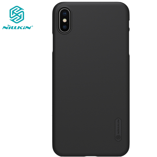 nillkin iphone xr  case for iphone XS Max XR X NILLKIN Super Frosted Shield hard PC ...