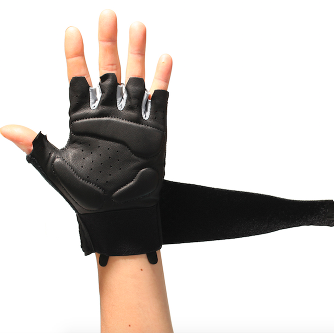 DAY WOLF Gloves Training Fitness Weightlifting Riding Genuine Leather Palm Handguards Strong Grip Breathable Comfort Fit in Fitness Gloves from Sports Entertainment