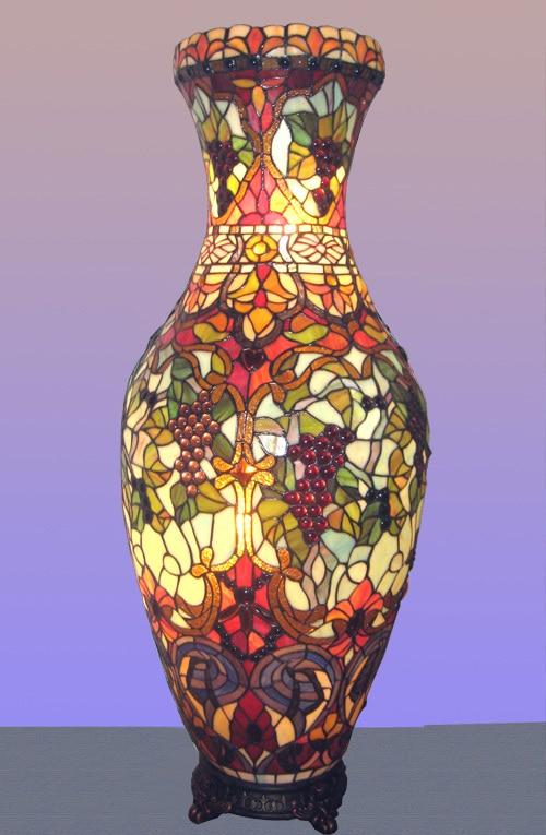 Original Authentic Tiffany Lamps Hotel Villa Hall Lobby Mosaic