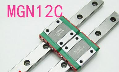 Großhandel mit 2 satz von hiwin lager block MGN12C + rail 500mm