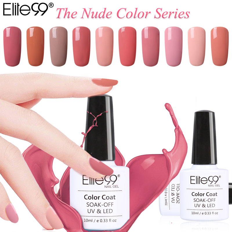 Elite99 Color Series Uv Gel Polish Soak Off Led L Nail Art Design Hot Lacquer 24 Colors In From Beauty Health On