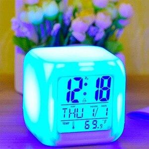 7 Color LED Change Digital Glo