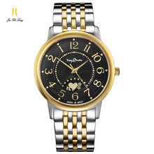 Time Story Top Brand Luxury Lovers' Couple Watches Waterproof Quartz Strap Watch for Women Men Stainless Steel Watch Montre