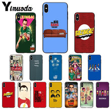 Yinuoda Bazinga The Big Bang Theory tv show Unique Design Phone Cover for iPhone 6S 6plus 7 7plus 8 8Plus X Xs MAX 5 5S XR(China)