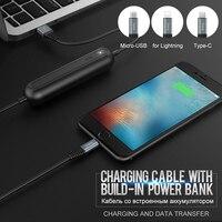HOCO Orijinal Şarj Veri Kablosu Apple Yıldırım için USB Mobil güç Bankası Şarj Tel Tipi C Mikro USB Samsung Xiaomi için