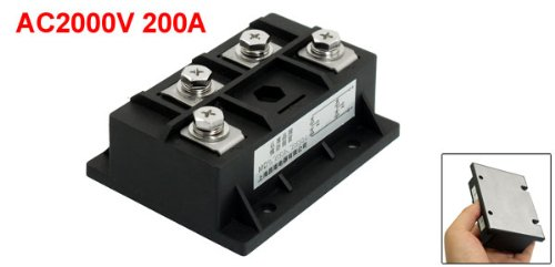 AC 2000V 200A Silicon Control Semiconductor Diode Bridge Rectifier Module MDQ200 high quality zp500a 2cz concave type convex type silicon rectifier common rectifier tube