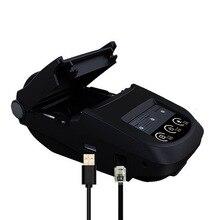 58mm Bluetooth Thermal Printer Portable Mobile APP Mini Receipt Ticket Printer Support Apple Windows for Store Restaurant