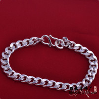 HWBR40515 men bracelets 925 sterling silver fashion bracelets rhodium plating jewelry,