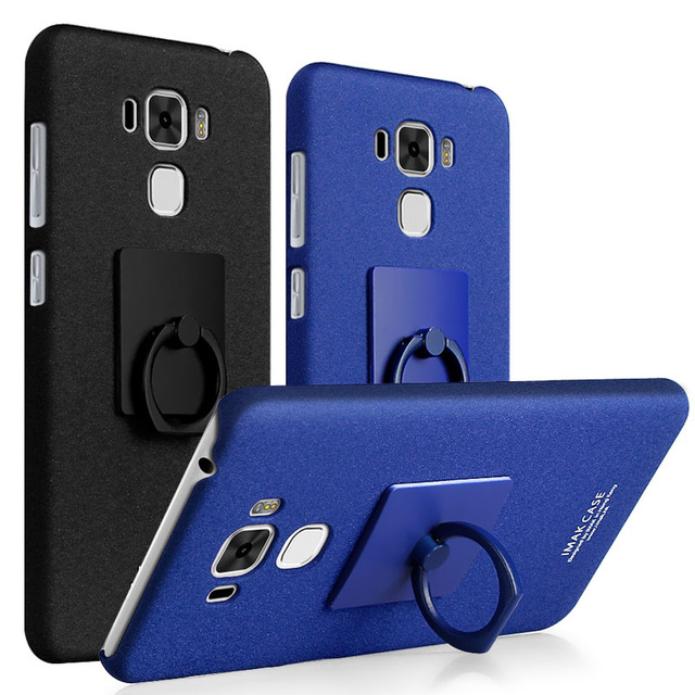 promo code cb7b2 2eee9 US $6.15 |IMAK Cowboy Case Matte Case for ASUS ZenFone 3 Max ZC553KL Hard  Back Cover for Asus ZC553KL Cases with Finger Ring Screen film on ...