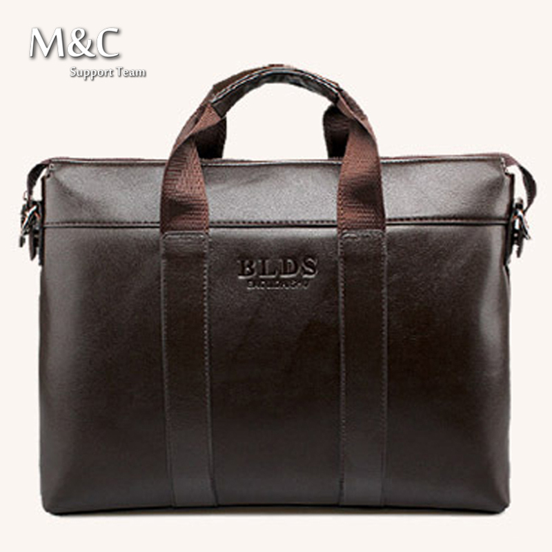 New 2016 Men Briefcase Business Shoulder Bags Genuine Leather Bag font b Handbag b font Men
