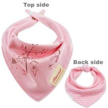 1 шт. детские хлопковые нагрудники милые детские мягкие треугольные нагрудники-шарфы бандана Новорожденный Малыш Детские отрыжки ткани слюна полотенце-нагрудник Baberos