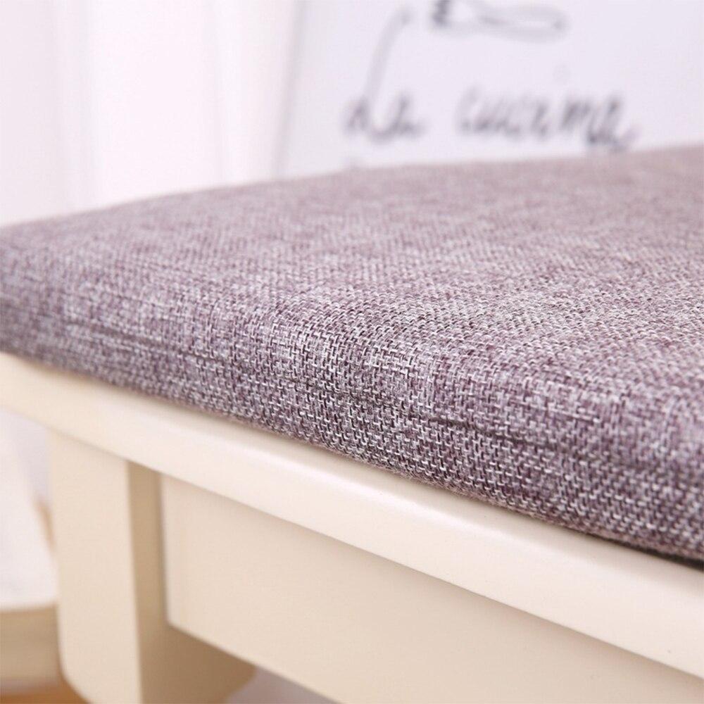 Home Office Decor Soft Square Chair Cushion Pad Comfortable Cotton Seat Cushion Bar Chair Back Cushions Sofa Patio Chair Cushion