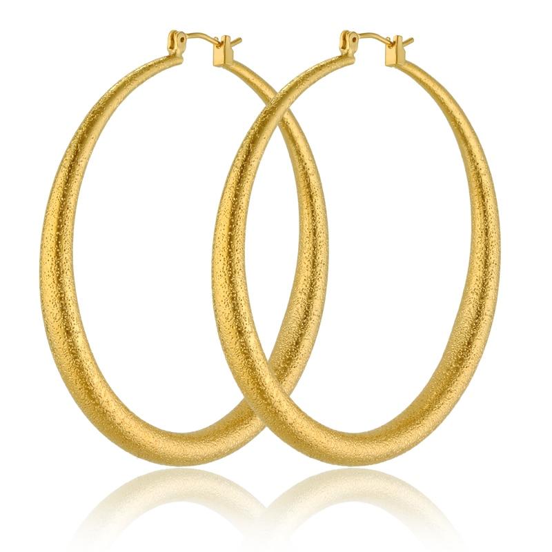 Online Get Cheap Gold Earrings Girl Hoop Aliexpress Com Alibaba Group