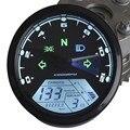 Universal 12000 RPM 199 KMH MPH Motocicleta Odômetro Velocímetro Tacômetro Motocicleta