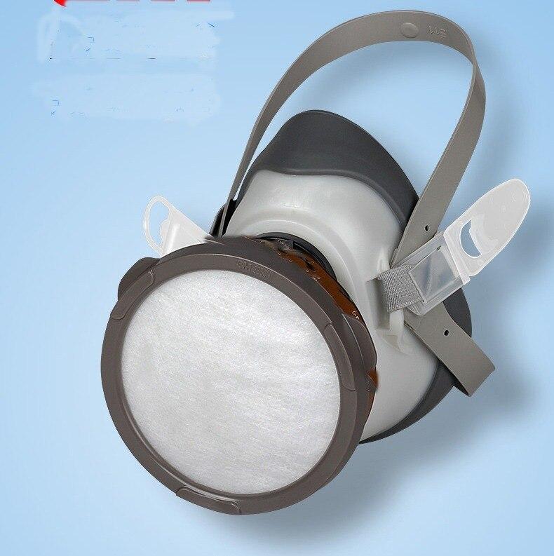 Masque Anti-buée à charbon actif Cutton pour filtre respiratoire au crépuscule à gaz chimique brume Pm2.5 Pesticides peinture masques de pulvérisation