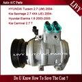 Car ac compressor for Kia Sportage Carnival Hyundai Tucson Elantra 1.6L 2.7L 2003 2004 2005