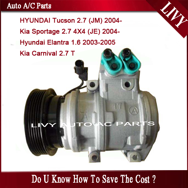 Ac Compressor For Kia Sportage Carnival For Hyundai Tucson