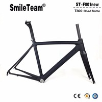 2017 Top New T1000 UD Full Carbon Road Frame Bike Racing Bicycle Frameset Accept Custom Logo