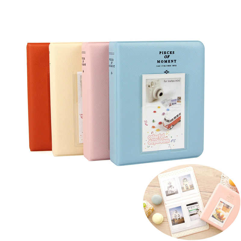 72 tasche Photo Book Album per Fujifilm Instax Mini 9 8 7 s 70 25 50 s 90 Film, polariod Mini Film, Album di Carta di Nome