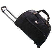 Travel Trolley luggage Bag  Hand Luggage 22″  24″inch  Duffle Waterproof Oxford Suitcase On Wheels