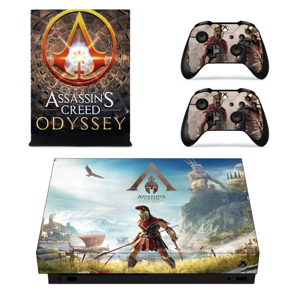 Video Game Accessories Video Games & Consoles Gow 210 Vinyl Decal Cover Skin Sticker For Xbox360 Slim And 2 Controller Skins Punctual Timing