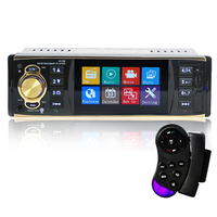 Auto Car Radio 4 Inch HD Car Stereo Bluetooth MP5 Vehicle MP5 Plug in Machine U Disc Player Speakerphone Radio Coche Display