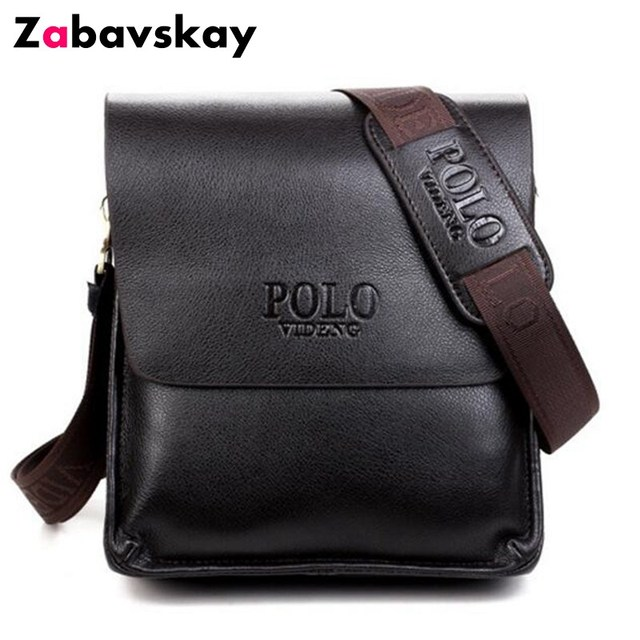 9fd95fc43f 2018 Men Brand High Quality Crossbody Messenger Bag Luxury PU Leather Shoulder  Bags Fashion Simple Casual