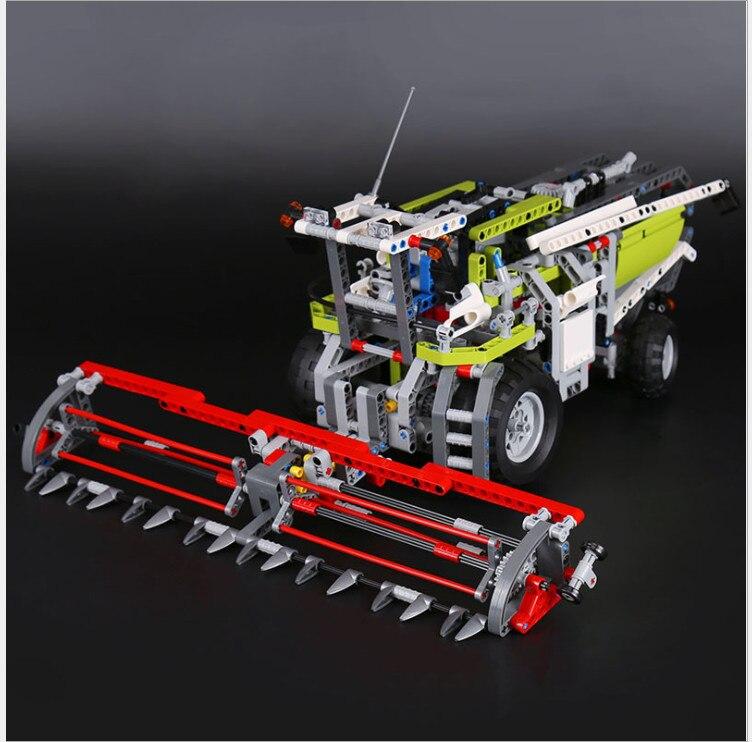 compatible legoing 8274 legoing technic Combine Harvester Lepin 20041 lepin Technic Combine Harvester Set Building Blocks bricks цена