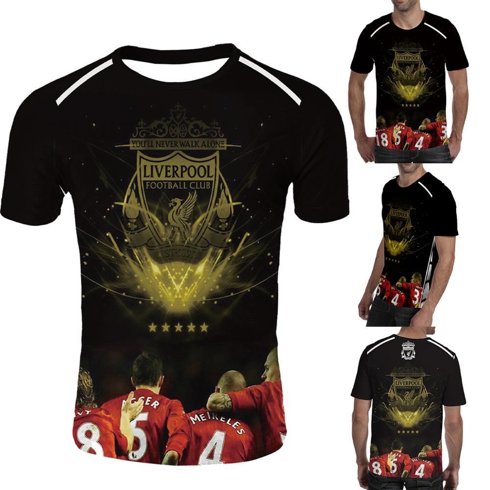 Liverpool 2019 Breathable   T     Shirt   3d Digital Printing Liverpool In Men's   T  -  shirts   Liverpool Fc Tshirt Liverpool   Shirt