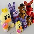 Five Nights At Freddy's 4 Kawaii Fnaf World Freddy Fazbear медведь лисица Бонни и Чика плюшевые мягкие животные детские игрушки кукла Peluche