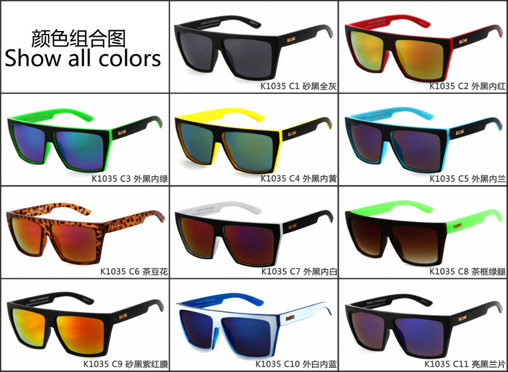 Running Sunglasses Mens  aliexpress com new brand squared sunglasses evoke afroreggae
