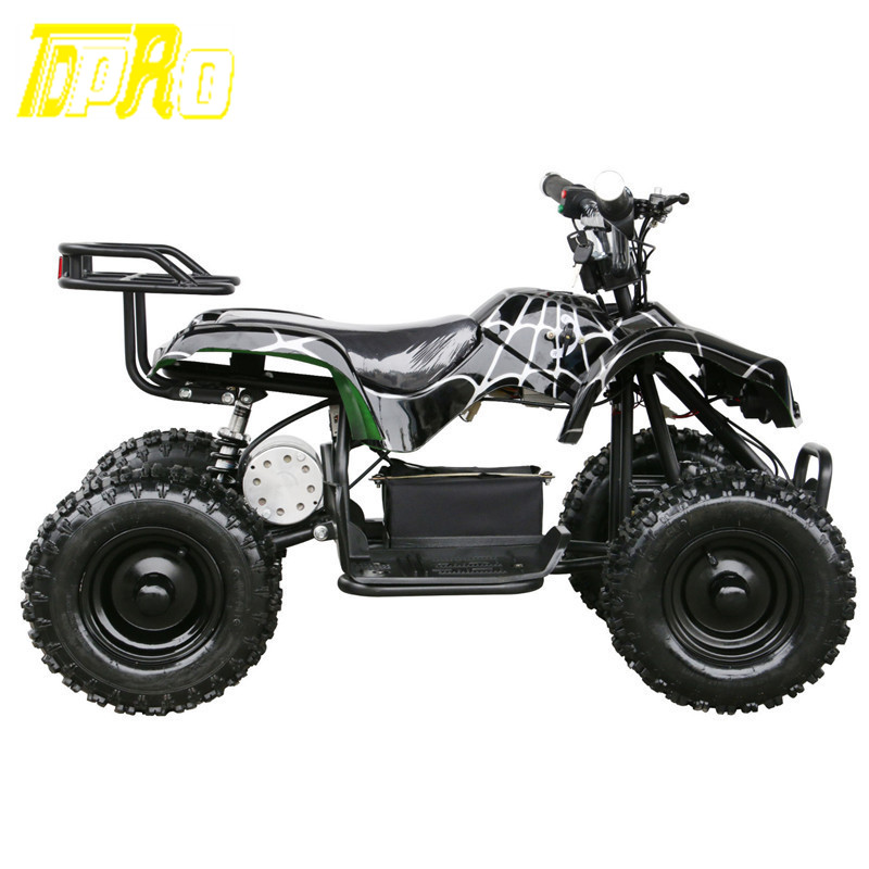TDPRO Children 24V 500W Black  Electric Ride On Mini Quad ATV Black Buggy Cool Off-road Go Karts HHY генератор hyundai hhy 7000fge