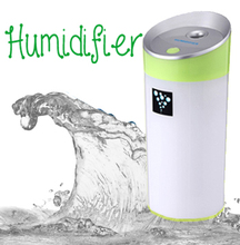 USB 5V power supply ultrasonic ionizer water diffuser with Mist Humidifier
