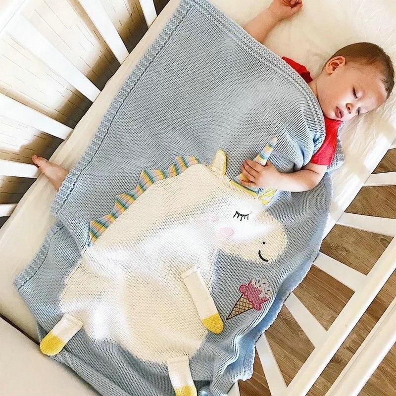 Sale Unicorn Stuffed Pillow With Newborn Summer Air Conditioning