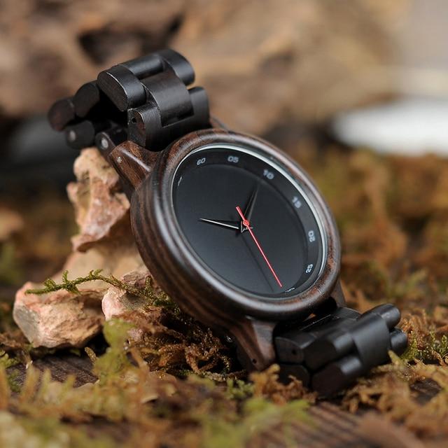 BOBO BIRD High Quality Wrist Watch - Bamboo Wooden Watch 5