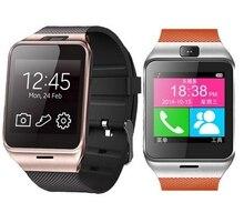 Smartwatch Bluetooth Smart Uhr reloj inteligente tragbare Armbanduhr für apple iPhone Samsung Android Telefon pk u8 dz09 GVah