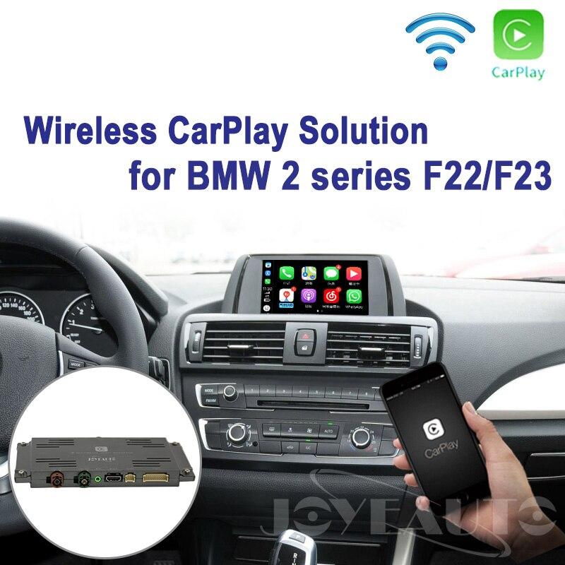 Joyeauto Carplay WI-FI Sem Fio Da Apple série F22 F23 2 NBT Retrofit 2013-2017 para BMW Câmera apoio Waze Spotify google Maps
