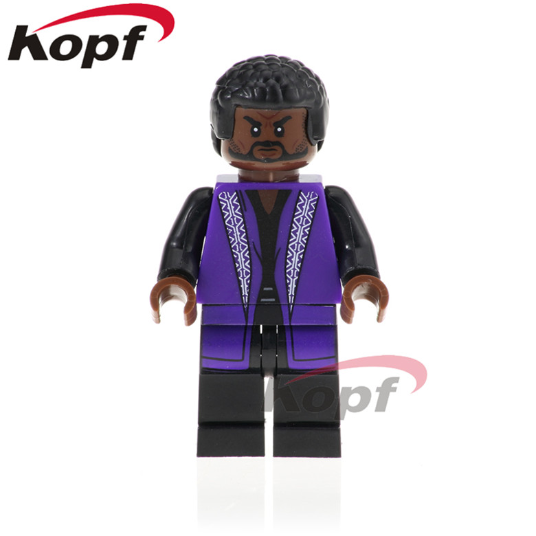 XH 862 Single Sale Super Heroes Bricks Black Panther Compatible Collection Building Block For Best Gift Kids Toys