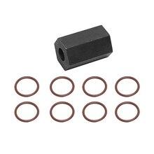 6.0L For 03-10 Ford Power Stroke High-Pressure Oil Rail Ball Tube Seal Kit +Tool