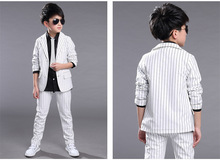 High Quality Boys Solid Suit
