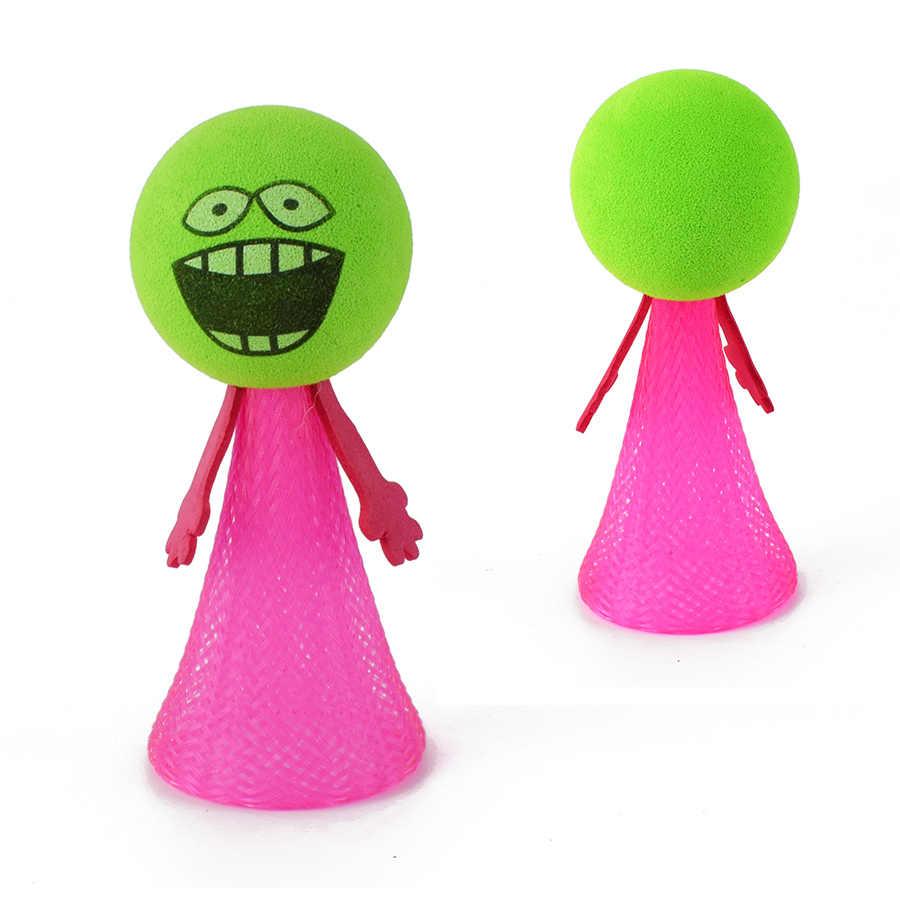 1Pcs Lucu Terbang Melompat Elf Anak-anak Aneh Ventilasi Boneka Mainan Bayi Anak Kreatif Pendidikan Belajar Mainan Lucu Hadiah Acak warna