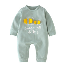 VTOM Hot Sale Baby Autumn Rompers Infant Boys Girls Clothes Newborn Long-Sleeved  Jumpsuits