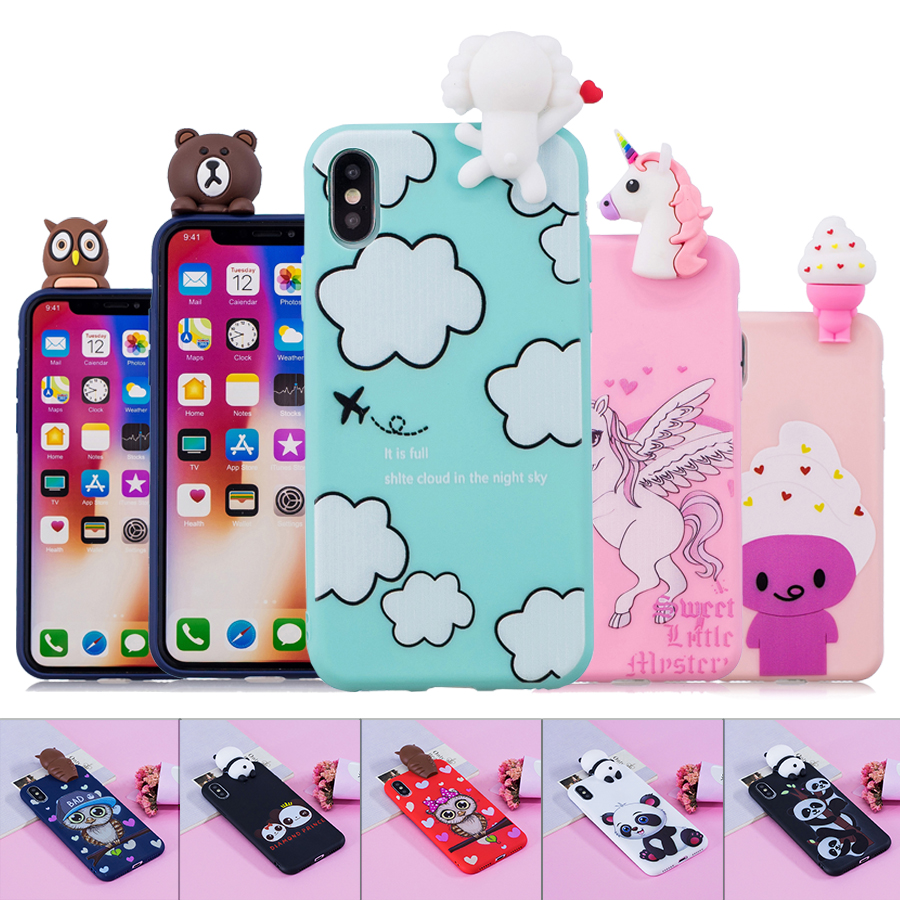 Generous Flip Leather Case On Sfor Fundas Iphone Xs Max Case For Coque Iphone 6 6s 7 8 Plus X Xs Xr Cover Owl Wallet Stand Phone Cases Camera & Photo