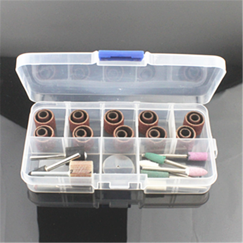 Rotary Abrasive  36Pcs Grinder Points Bit Set Suit Mini Drill Rotary Tool & Fit DREMEL Grinding,Carving,Polishing