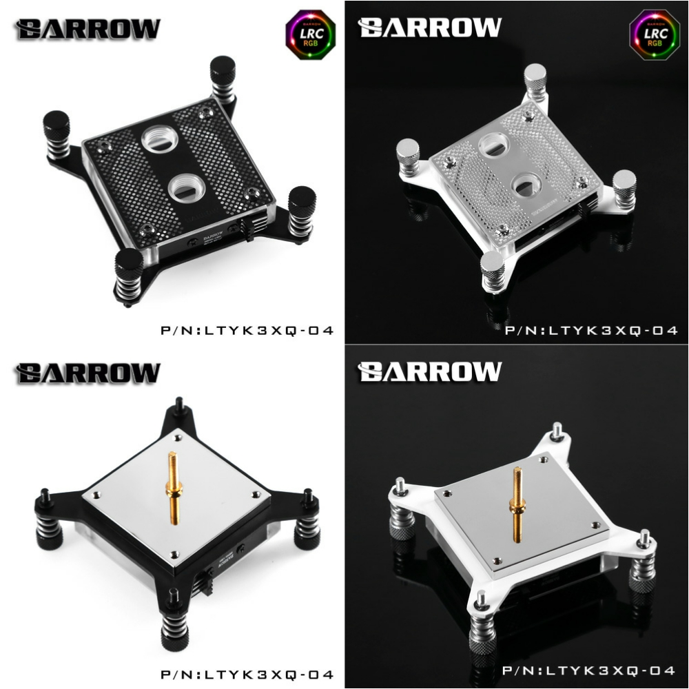Barrow LTYK3XQ-04 RGB CPU Water Cooling Block for Intel X99 20XX barrow ltyk3x 04 v2 lrc2 0 rgb cpu water cooling block for intel x99