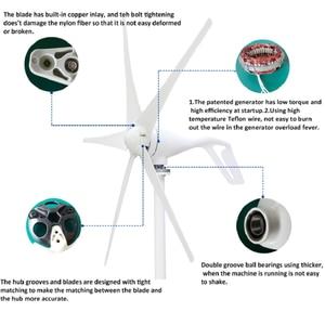 Image 2 - small 3 or 5 blades for option 300w 400w 12v 24v DC wind turbine generator